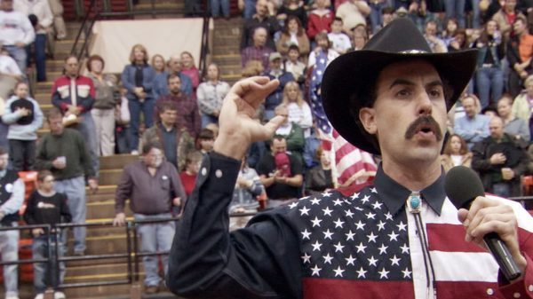 the humor in borat cultural learnings of america for make benefit glorious nation of kazakhstan Borat: cultural learnings of america for make benefit glorious nation of kazakhstan is a 2006 comedy film about borat leaving his home in kazakhstan to go to the usa and record a documentary.