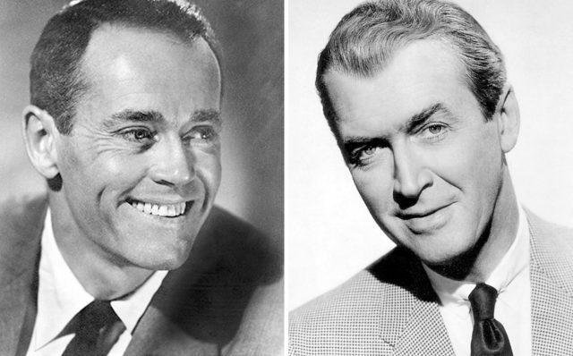 Henry Fonda and Jimmy Stewart