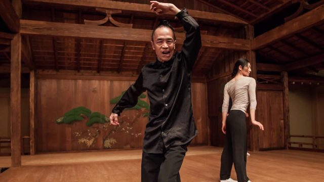 Luca Veggettis Left-Right-Left will make its North American premiere at Japan Society October 13-14 as part of NOH NOW series