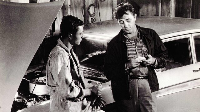 Robert Mitchum and his oldest son, James, play brothers in Thunder Road