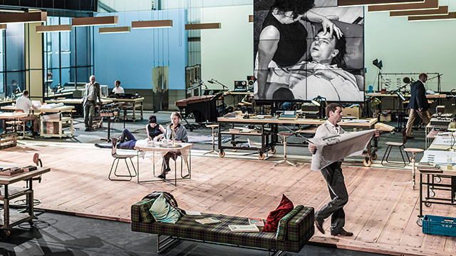 Ivo van Hoves adaptation of Ayn Rands The Fountainhead runs at BAM November 28 to December 2