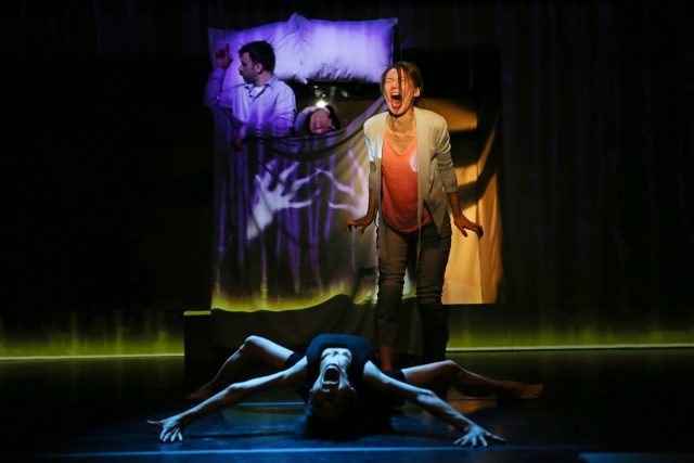 Ripe Time reimagines Haruki Murakamis Sleep in inventive theatrical adaptation (photo ©Julieta Cervantes)