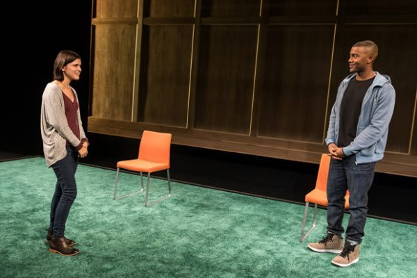 Alexandra Socha and Joshua Boone star in gripping play by Anna Zielger