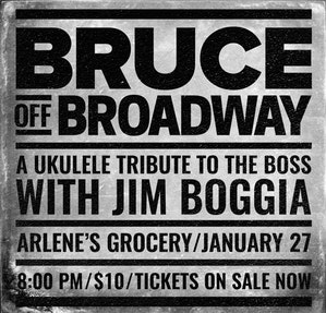 bruce off broadway