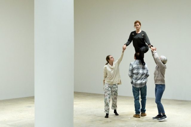 The New York City Players are performing Paradiso for free at Greene Naftali in Chelsea through February 10