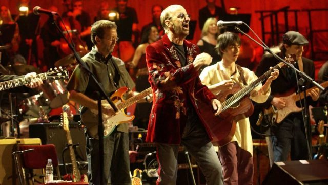 Eric Clapton, Ringo Starr, Dhani Harrison, and others come together for George Harrison tribute at Royal Albert Hall