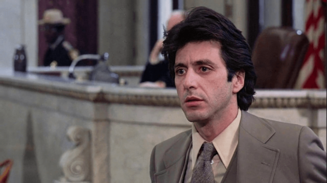 No need to worry; Al Pacino is only temporarily speechless in courtroom fave