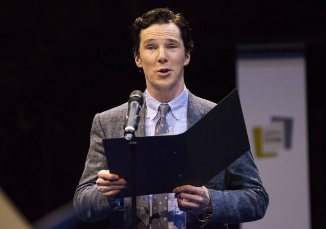 Benedict Cumberbatch and special guests will perform Letters Live at the Town Hall May 18-19