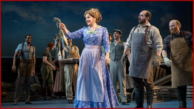 Opera superstar Renée Fleming makes a point as Nettie Fowler in Broadway revival of Rodgers & Hammerstein classic (photo by Julieta Cervantes)