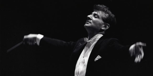 Symphony Space honors Leonard Bernstein with Wall to Wall presentation on May 19 (photo by Don Hunstein, 1961; courtesy of Sony Music)