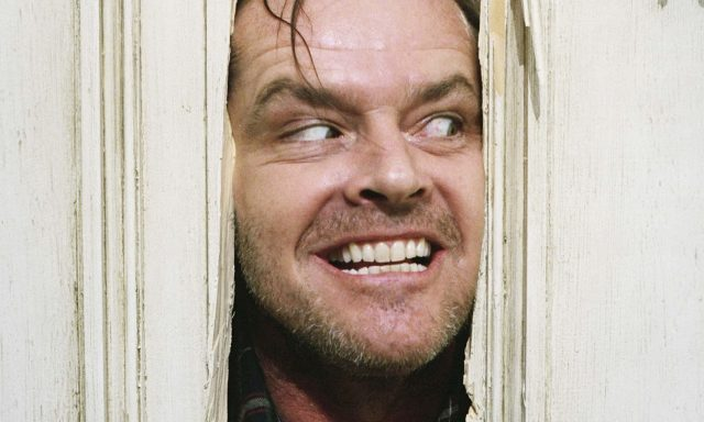 All work and no play makes Jack Nicholson far from a dull boy in The Shining