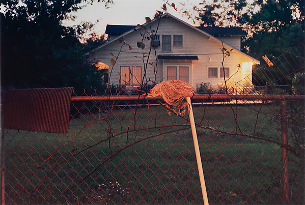 William Eggleston, Greenwood, dye-transfer print, ca. 1971–74 (© Eggleston Artistic Trust)