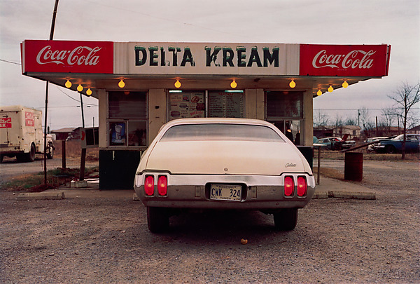 William Eggleston, Mississippi, dye-transfer print, ca. 1971–74 (© Eggleston Artistic Trust)