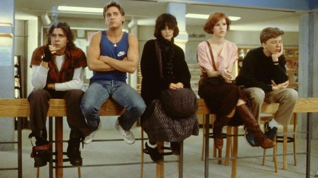 The Breakfast Club screens for free in Bryant Park on Monday night