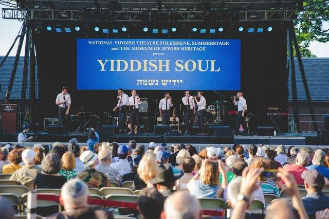 Yiddish Under the Stars returns to Central Park this week (photo courtesy City Parks Foundation)