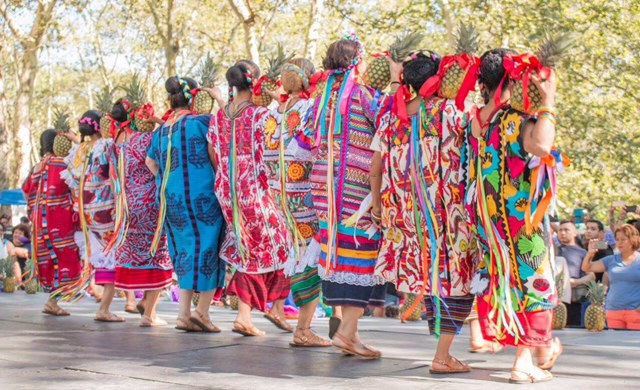 Guelaguetza Festival New York City takes place at Socrates Sculpture Park on July 28