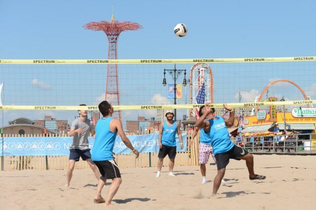 Beach volleyball tournament will be held on Coney Island on August 4