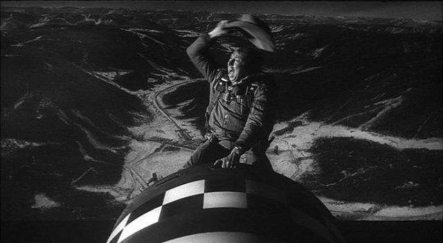 Dr. Strangelove is a grim, if hysterically funny, reminder of the threat of nuclear war