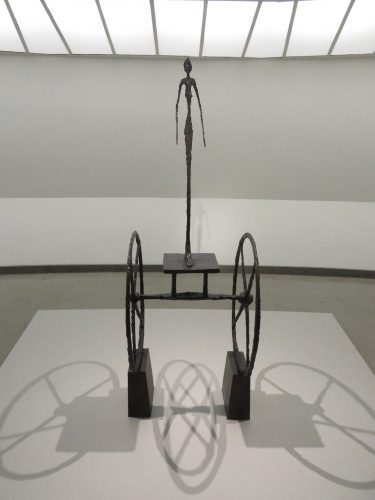 "Albert Giacometti, ""The Chariot,"" bronze, 1950  (photo by twi-ny/mdr)"