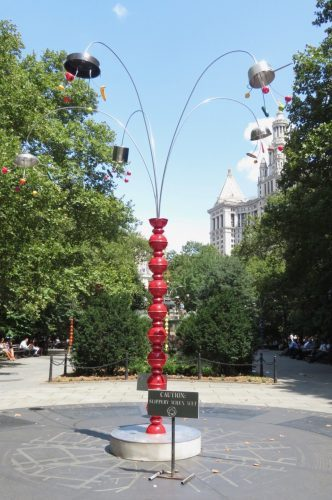 "B. Wurtz will talk about City Hall Park installation ""Kitchen Trees"" and more at New School event on September 17 (photo by twi-ny/mdr)"