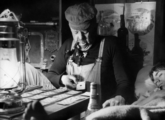 Michel Simon has loads of fun as a somewhat decrepit first mate in Jean Vigo's classic L'Atalante