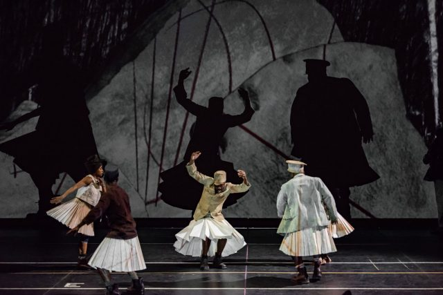 William Kentridge's The Head & the Load runs at Park Ave. Armory December 4-15 (photo by Stella Olivier)
