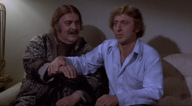 Zero Mostel and Gene Wilder
