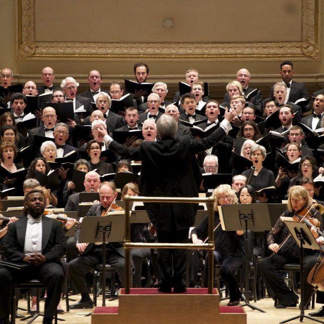 The Cecilia Chorus of New York will perform Handel's Messiah at Carnegie Hall on December 8
