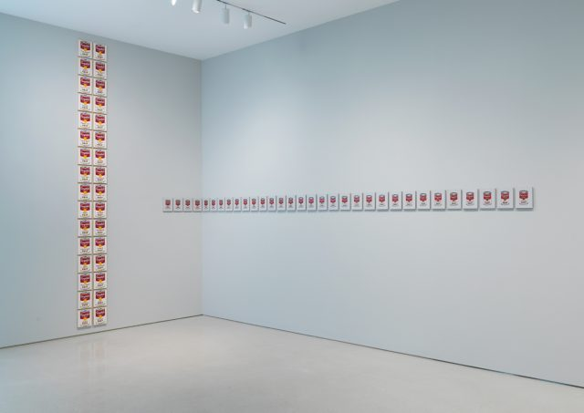 Installation view of Richard Pettibone: Endless Variation at The FLAG Art Foundation, 2018 (photography by Object Studies)