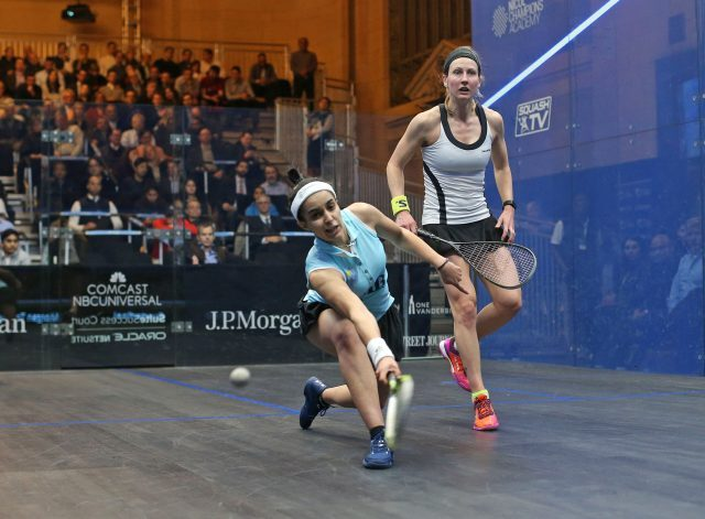 Top-ranked Raneem El Welily is in the semifinals of annual tournament in Grand Central Terminal