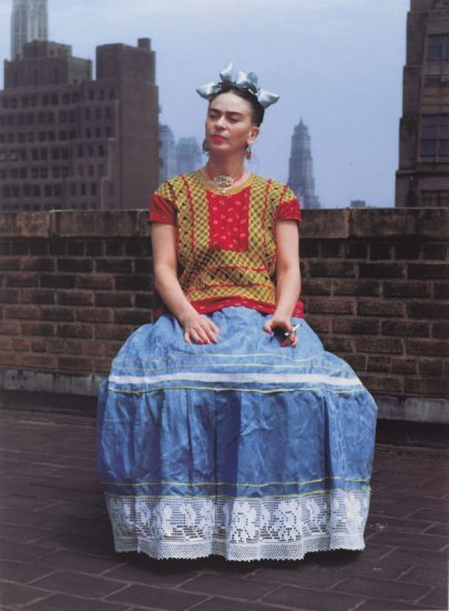 Nickolas Muray, Frida in New York, carbon pigment, 1946 (printed 2006), © Nickolas Muray Photo Archives (photo courtesy Brooklyn Museum)