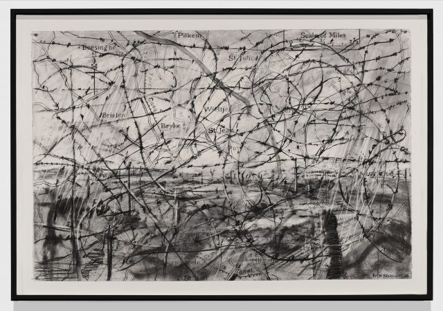 William KentridgeDrawing for 'Wozzeck Opera', 2017Charcoal on paper