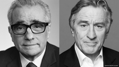 Martin Scorsese and Robert De Niro will talk about their work together at the Beacon