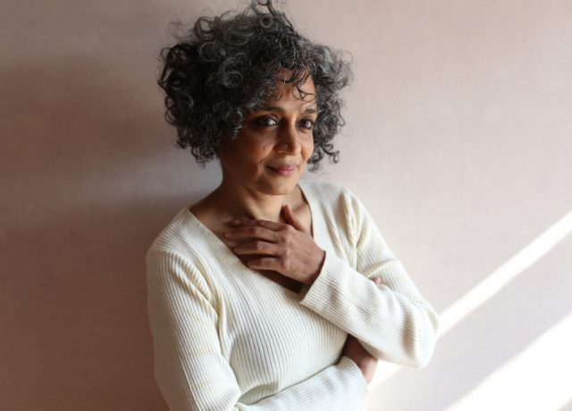 Arundhati Roy will deliver the Arthur Miller lecture at PEN America World Voices Festival (photo by Mayank Austen Soofi)