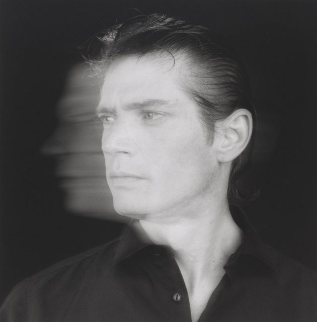 Self Portrait 1985, printed 2005 Robert Mapplethorpe 1946-1989 ARTIST ROOMS   Tate and National Galleries of Scotland. Lent by the Robert Mapplethorpe Foundation 2014