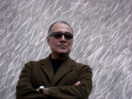Abbas Kiarostami retrospective will feature three special events with critic Godfrey Cheshire (photo by twi-ny/mdr)