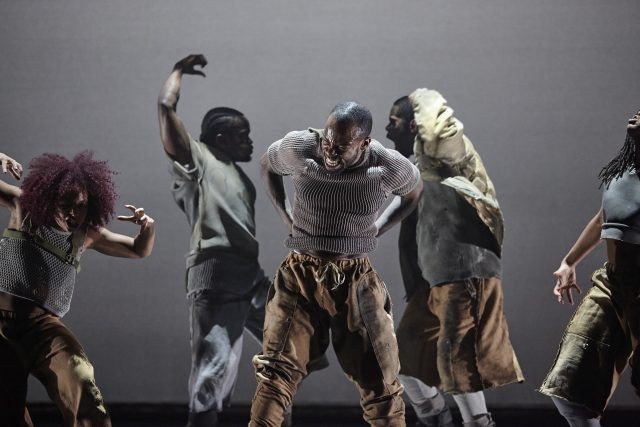 Boy Blue returns to Lincoln Center with Blak Whyte Gray at Mostly Mozart Festival (photo by Carl Fox)
