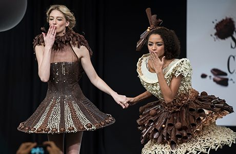 The Chocolate Fashion Show redefines haute couture/cuisine