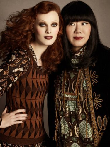 Karen Elson and Anna Sui will talk about music and muses at MADMuseum (photo courtesy Museum of Arts & Design)