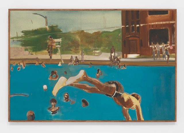 Noah Davis,  1975 (8), oil on canvas in artist's frame, 2013 (courtesy David Zwirner)