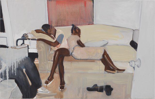 Noah Davis, Untitled, oil on canvas, 2015 (courtesy David Zwirner)