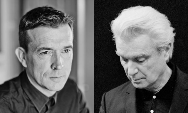 David Mitchell and David Byrne will discuss the concept of utopia and the state of the world i 92Y conversation